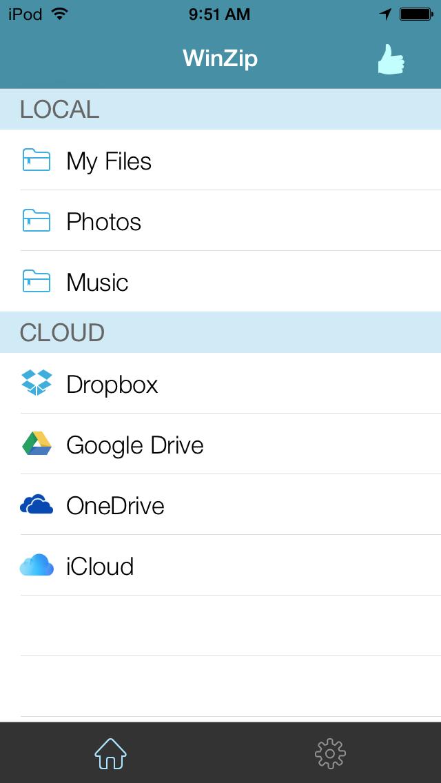 WinZip: #1書類圧縮/圧縮解除ツールのおすすめ画像1