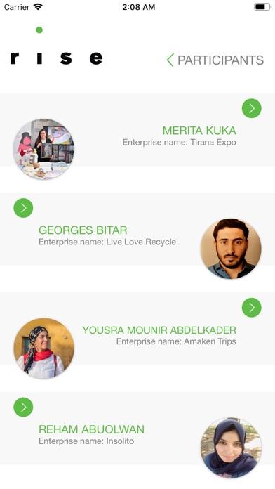 RISE App - UNIDO screenshot four
