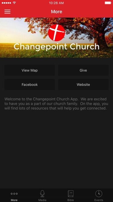 Changepoint Cabot screenshot 1