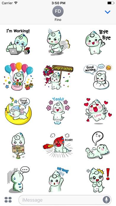 Fino Chubby Dinosaur Sticker-2