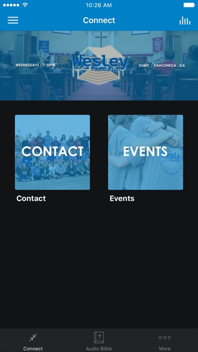 UNG Wesley Foundation screenshot 1
