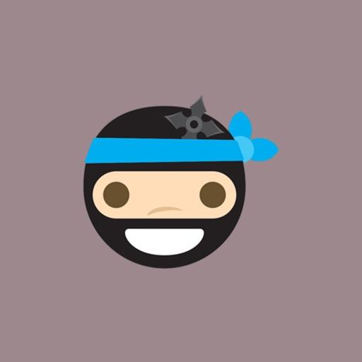Ninja Emoji and Smiley Sticker pack