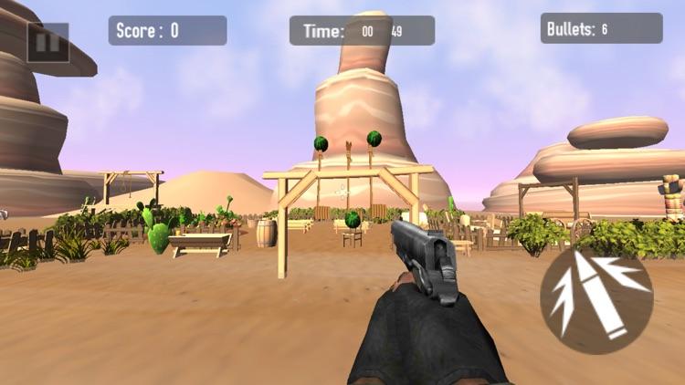 Watermelon Fruit Shooter FPS screenshot-4