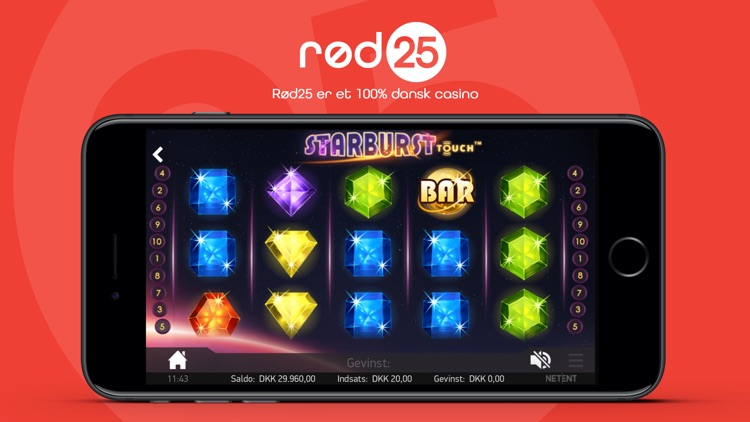 rød25 casino tv
