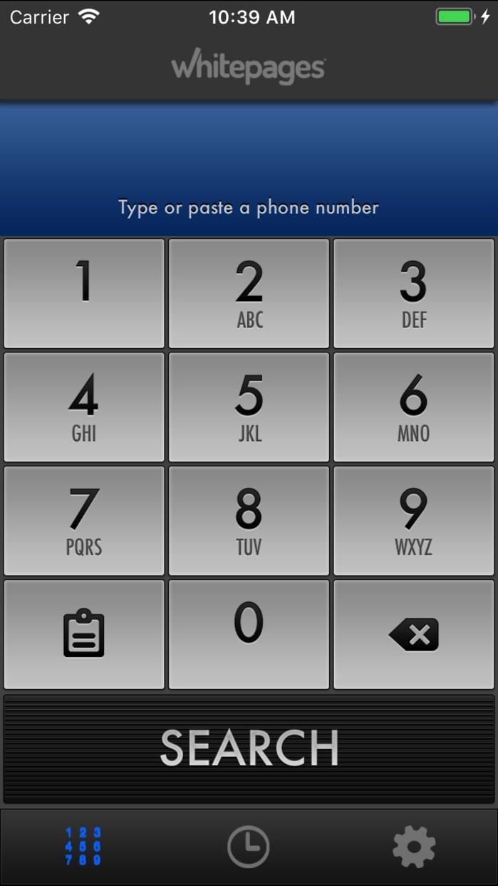 Reverse Phone Lookup Screenshot