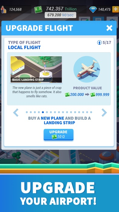 Idle Airport Tycoon - Planes Screenshot 4