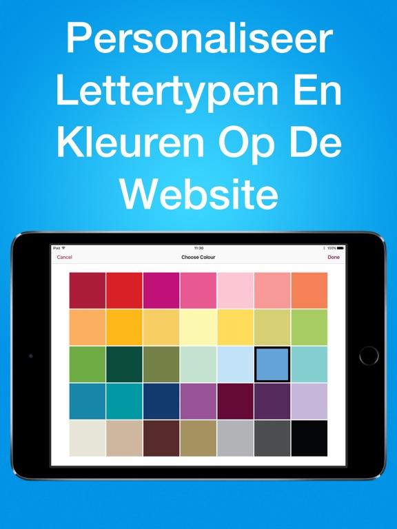 Simpl website builder app voor iphone ipad en ipod for Badkamer ontwerpen app ipad