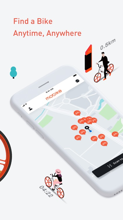 Mobike - Smart Bike Sharing screenshot-1