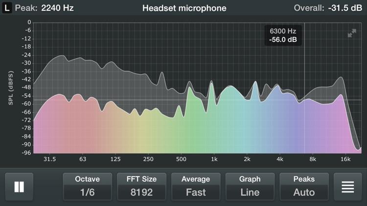 Spectrum Analyzer RTA screenshot-0