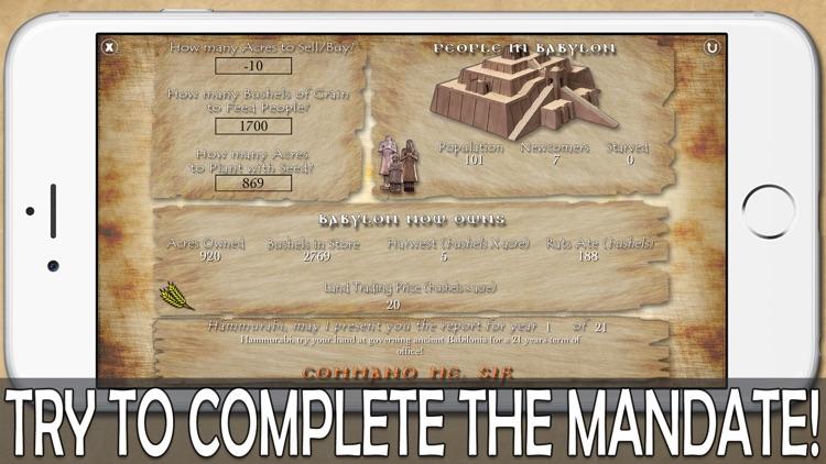 Hammurabi, The Game screenshot-3