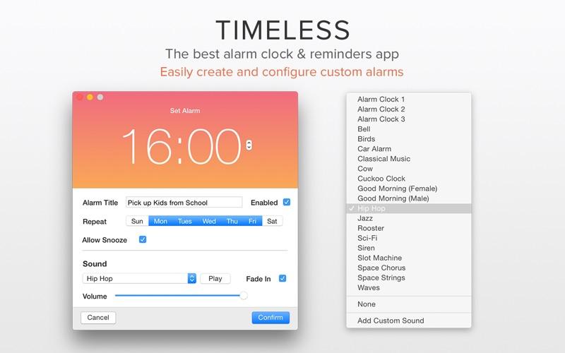Timeless: Alarm Clock Screenshots