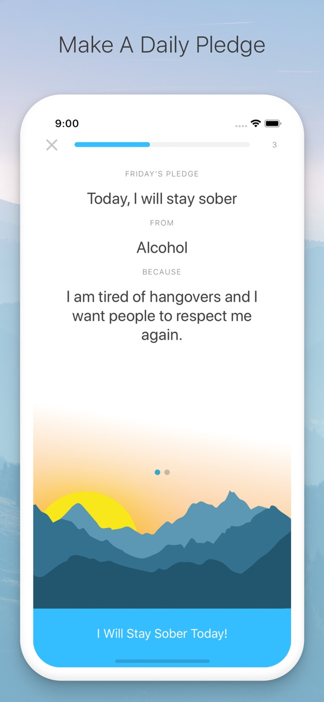 I Am Sober - Sobriety Counter Screenshot