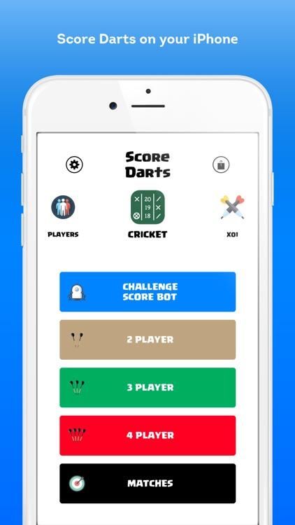 Score Darts Cricket and X01 screenshot-0