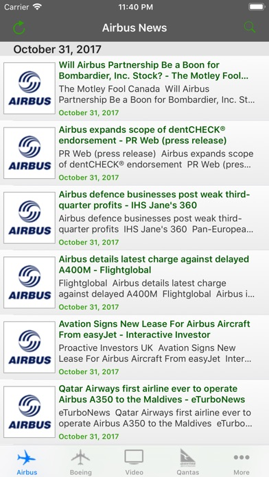 Aviation Airline News screenshot1