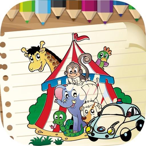 Coloring book & drawings