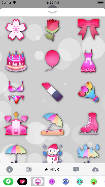 PINK Emoji • Stickers screenshot-4