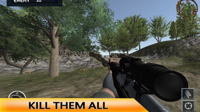 US Military Sniper Shoot War screenshot one