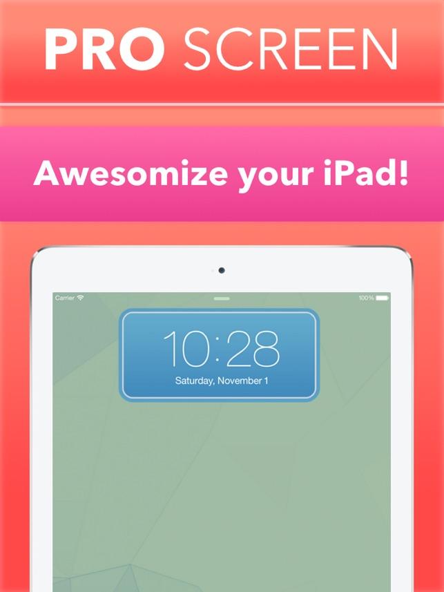 PRO Screen - Lock & Home Skins Screenshot