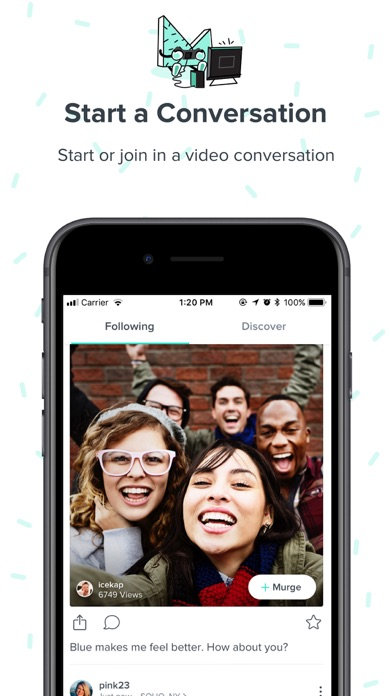Murge - Video Dialog app image