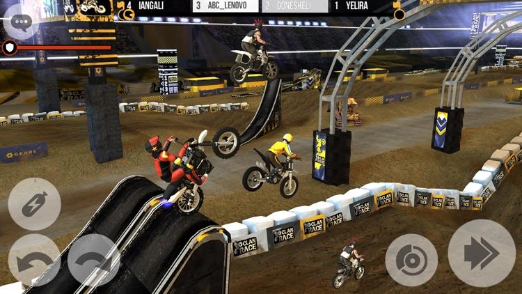 Clan Race: Extreme Motocross