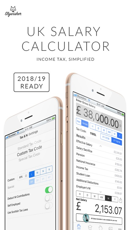 UK Salary Calculator - 2018/19 screenshot-0