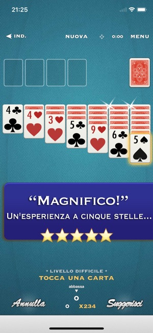 App giochi carte