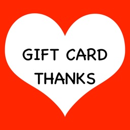Gift Card Thanks