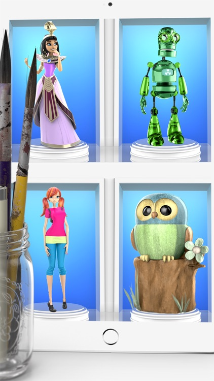 ColorMinis Collection -Making 3D art coloring real screenshot-3