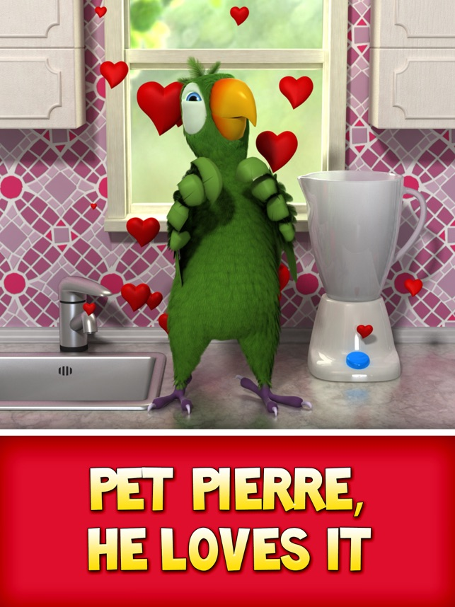talking pierre the parrot full version apk free download