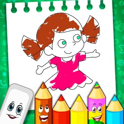 Coloring Book Puzzle Art
