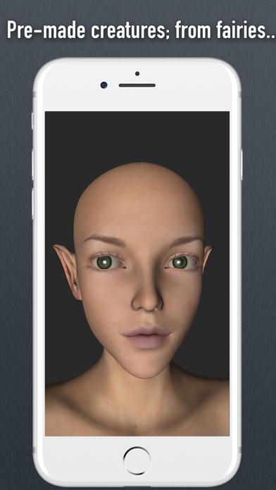 Face Model - 3D virtual human head for artists screenshot three