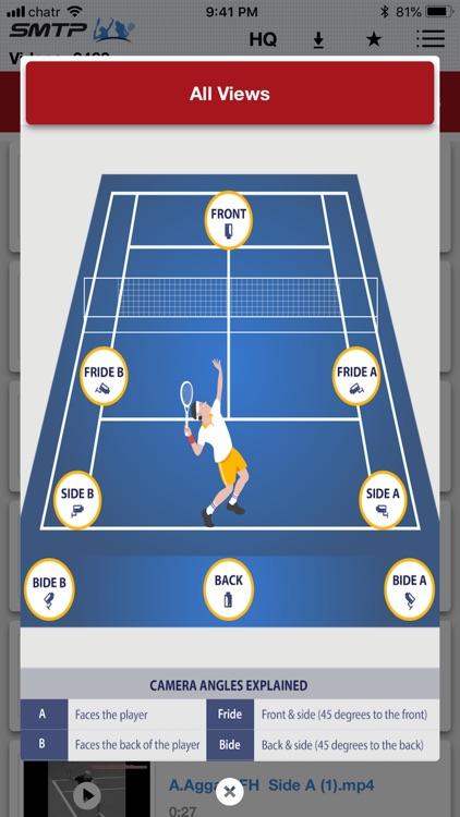 Slow Motion Tennis Pros screenshot-6