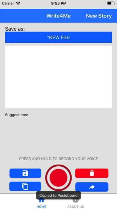 Write4Me - Voice to Text,Story screenshot 4