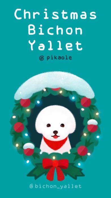 Christmas bichon Yallet screenshot one