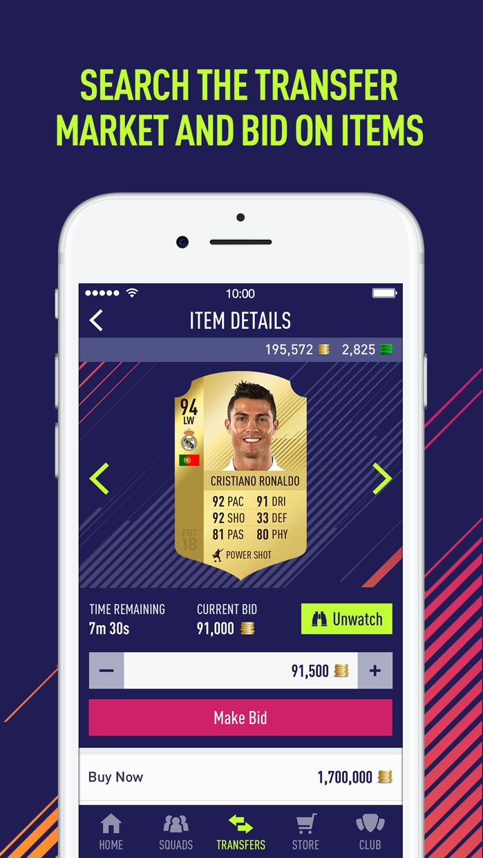 EA SPORTS™ FIFA 18 Companion Screenshot
