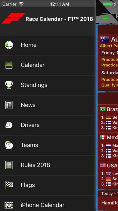 Race Calendar 2018 Screenshot 2