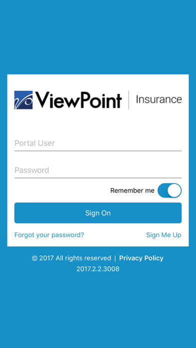 ViewPoint Insurance screenshot one