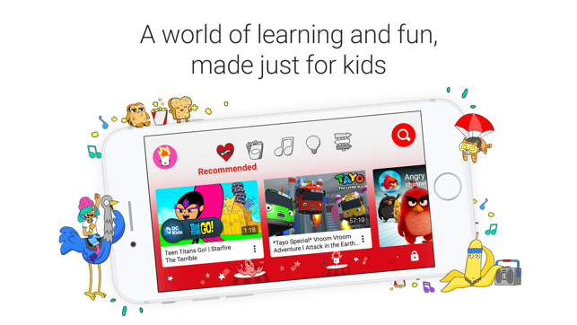 Youtube kids on the app store screenshots ccuart Images