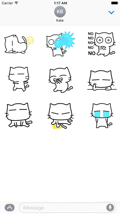 Tom Cat Loves Dancing Stickers