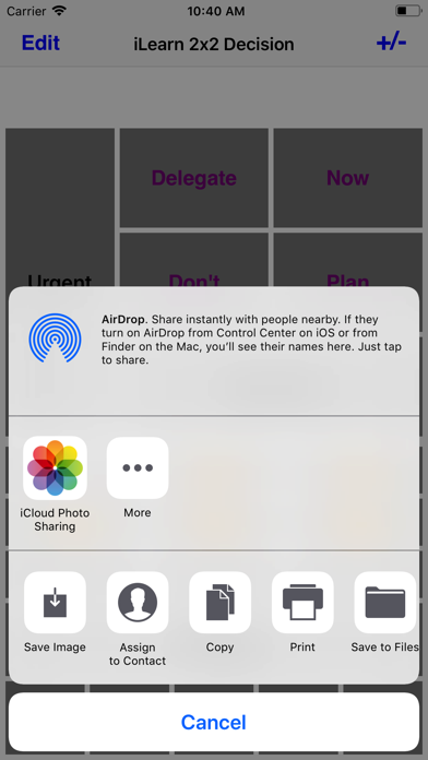 iLearn2X2 Decision screenshot four