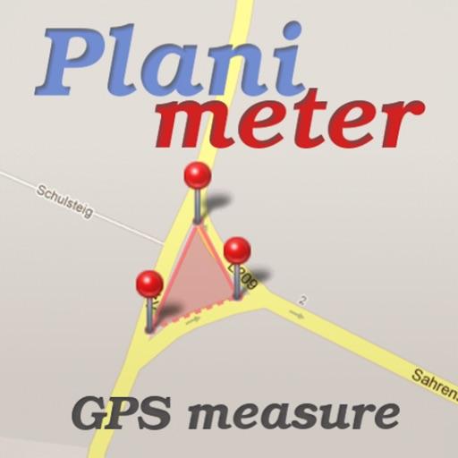 Planimeter - Field Area Measure on Map & GPS Track