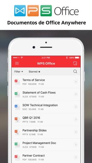 Wps office en app store capturas de pantalla urtaz Images