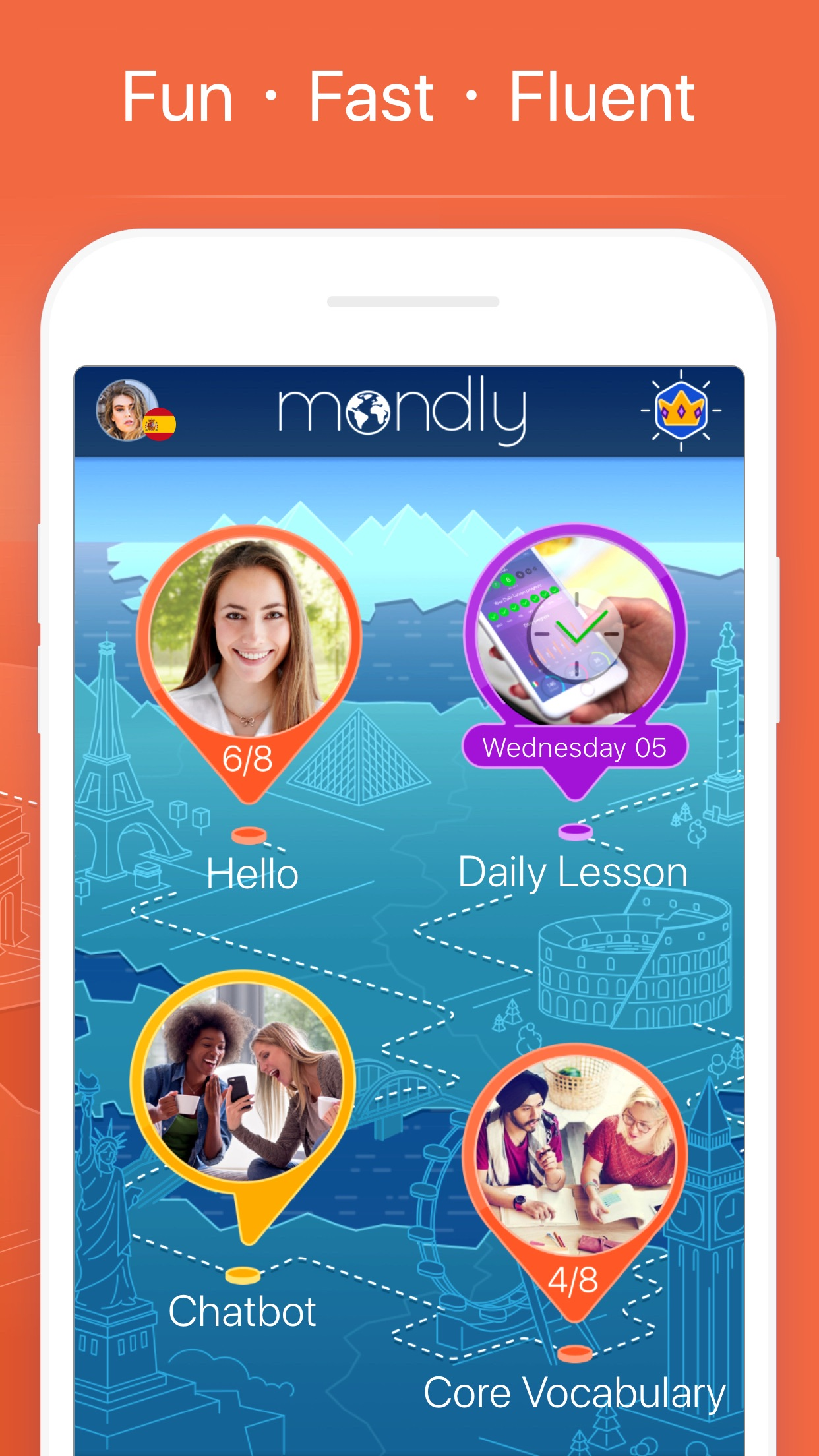 Learn American English –Mondly Screenshot