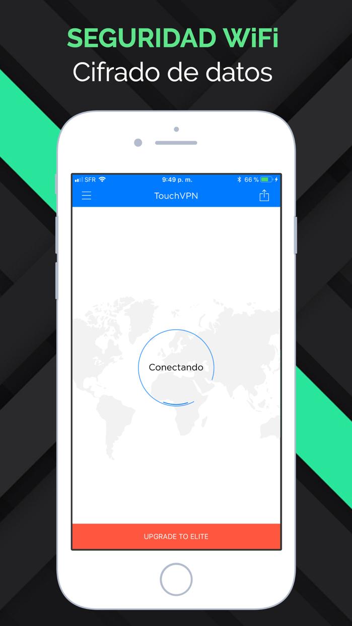 TouchVPN Proxy Seguridad WiFi Screenshot