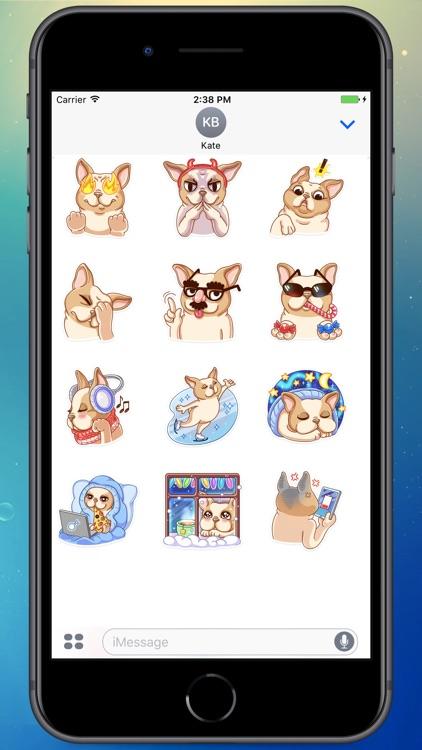 French Bulldog! Stickers