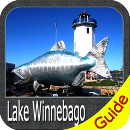 Lake Winnebago Wisconsin GPS Fishing chart
