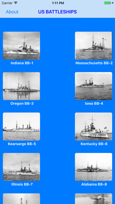 Battleships of the U.S Navyのおすすめ画像1