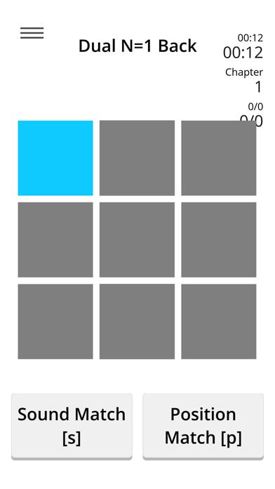 Dual N-Back - Train of Thought screenshot two