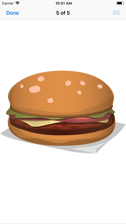 Heavenly Hamburger Stickers screenshot-7