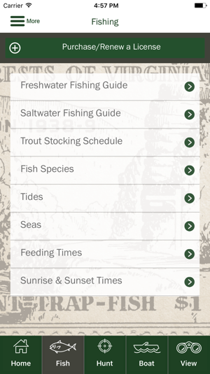 Go outdoors va on the app store for Utah hunting and fishing mobile app